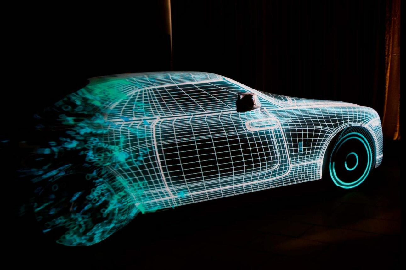 Projection Mapping Car